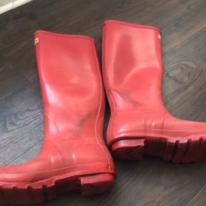 Hunter Shoes - Hunter Red Boots